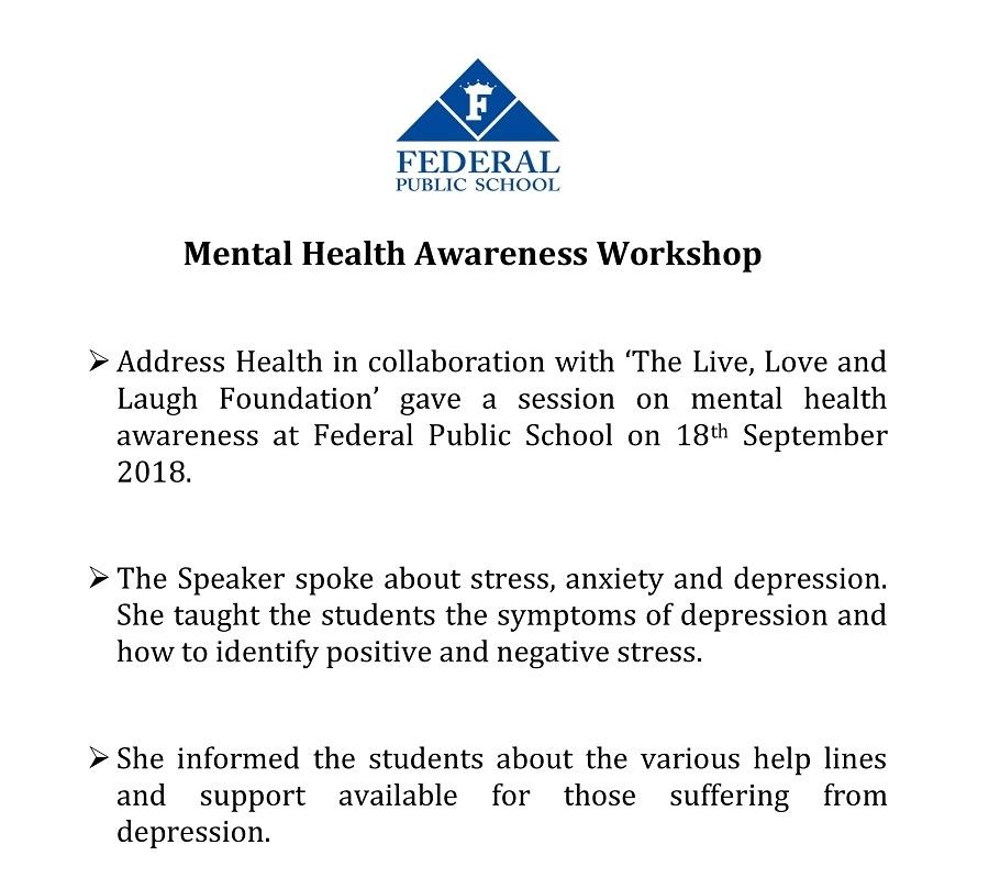 Mental Health Awarness